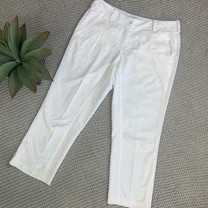 Nike Golf white cropped pants size 4